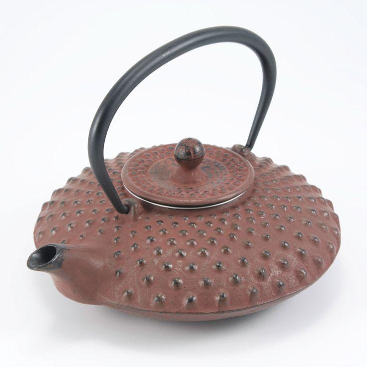 Sendai Teapot, Brown, Satake