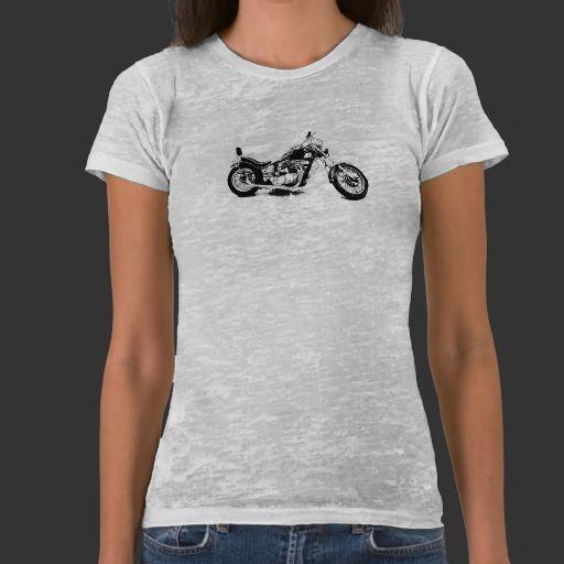 Custom Motorcycle T Shirt