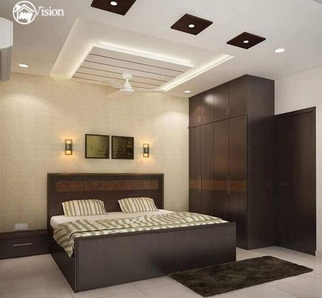 False Ceiling My Vision Best Interior Designers In Hyderabad Kitchen Bedroom In 2020 Ceiling Design Bedroom Ceiling Design Living Room Bedroom False Ceiling Design