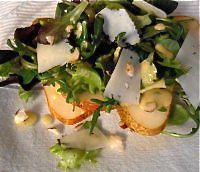 http://notjustoliveoil.com/2013/04/pear-and-gruyere-salad/
