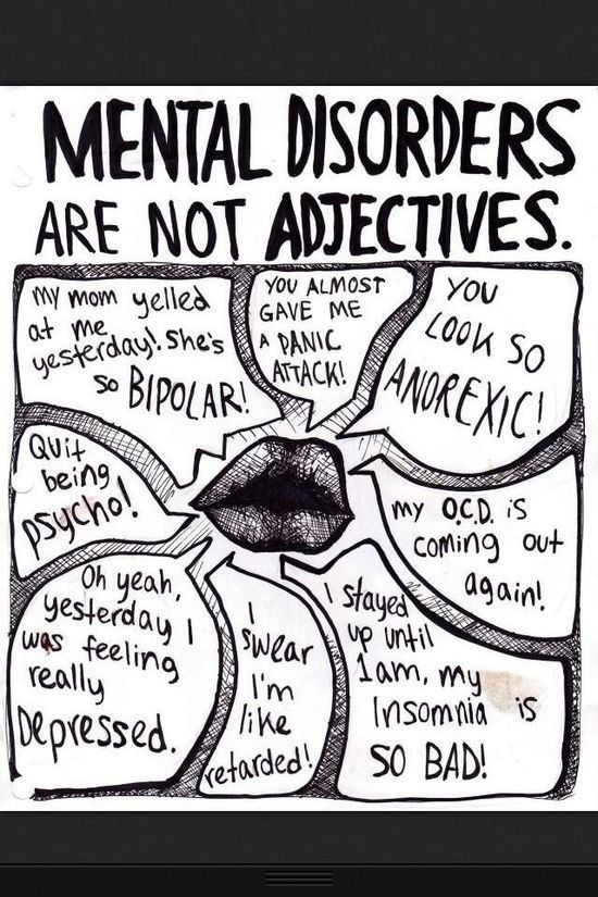 not a phillias are mental disorders Develop into a mental illness if they are not effectively dealt with mental illnesses cause a great deal of suffering to those experiencing them.