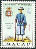 Macao 1966 Portuguese Military Uniforms - Stamps of the World