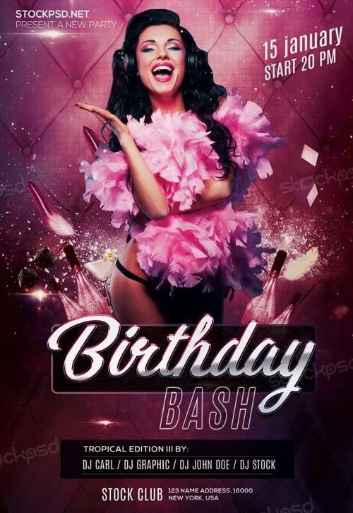 birthday bash flyer maker