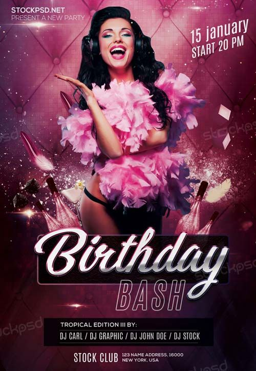 Birthday Bash Party Free PSD Flyer Template - http://freepsdflyer.com/birthday-bash-party-free-psd-flyer-template/ Enjoy downloading the Birthday Bash Party Free PSD Flyer Template created by Stockpsd!   #Anniversary, #Bday, #Birthdaye, #Classy, #Club, #Dance, #Dj, #Elegant, #Event, #Gold, #Party, #Silver