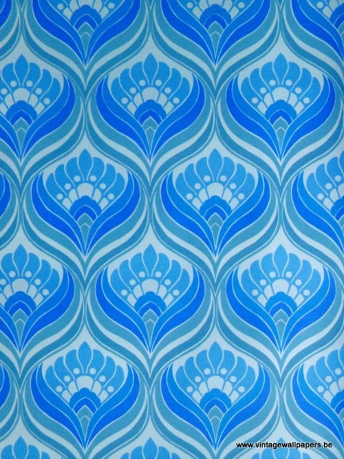 Blue and green pattern wallpaper - photo#36