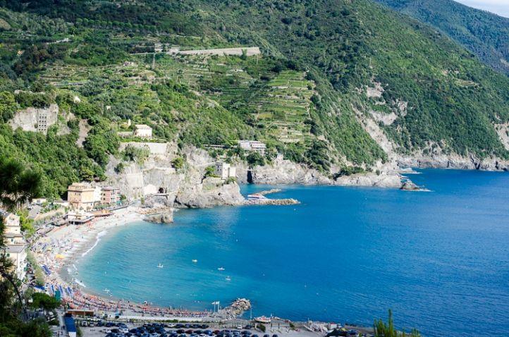 Ligurien © Luisa Possi Monterosso al mare, Cinque Terre, Wandern, Hiking, 5 Terre, Beach, Sea, Meer, Strand, Riviera, Italy, Italien, Liguria, Italia