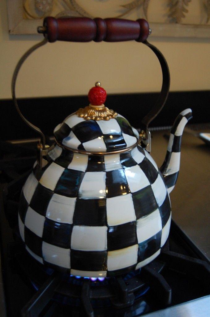 McKenzie Childs Teapot