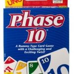 Phase 10 Card Game- Complete sets and groups of cards in a kid-friendly variation of rummy