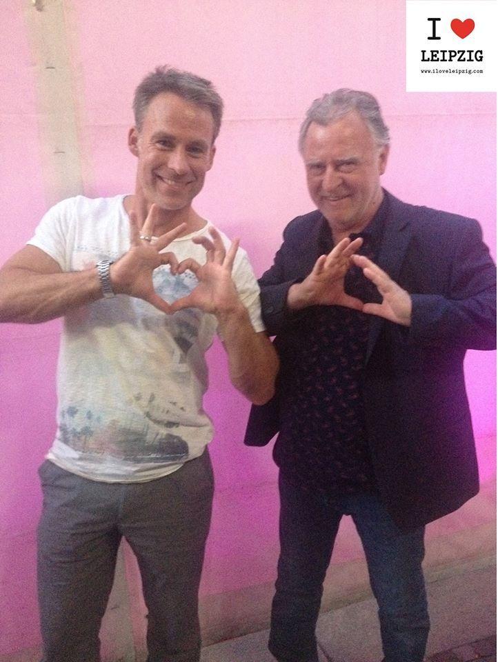 """WE LOVE LEIPZIG, weil """"es offen und absolut freundlich jeden aufnimmt.""""  Danke an unsere #LeipzigLiebhaber Marco Girnth und Andreas Schmidt-Schaller von SOKO Leipzig."""