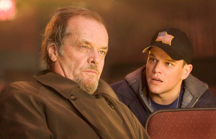 Jack Nicholson and Matt Damon in The Departed (2006)