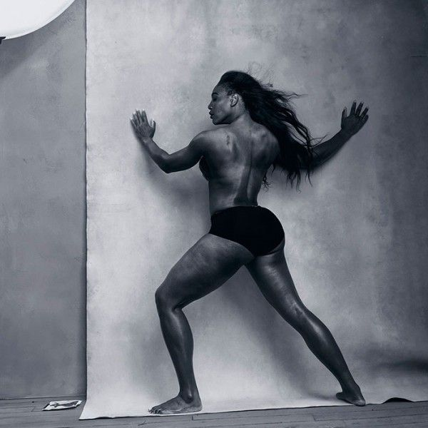 We couldn't be happier that the Pirelli calendar chose to showcase the incredible physique of the top female tennis player in the world, Serena Williams.