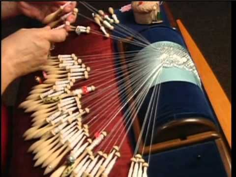 Bobbin Lace - How to Start Part 1 - YouTube
