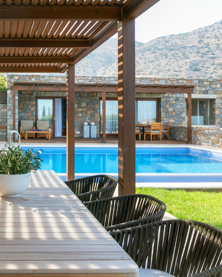Amazing private bungalow and suites accommodation can be found at Blue Palace resort & spa, Greece