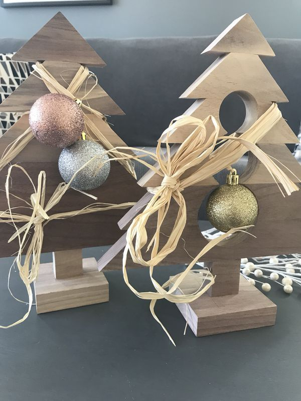 Handmade Solid Wood Christmas Trees Home Decor For Sale In Chicago Il Wood Christmas Tree Handmade Home Decor Handmade