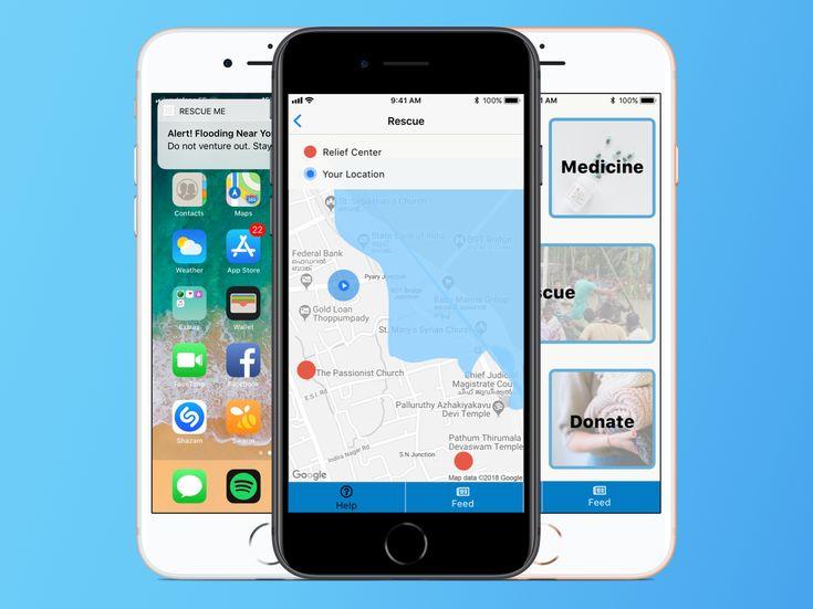 Rescue Me Rescue Iphone Me App