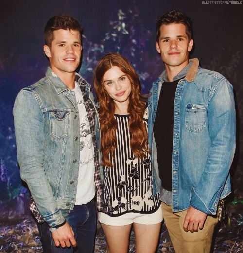 Charlie Carver, Max Carver and Holland Roden | Teen Wolf ...
