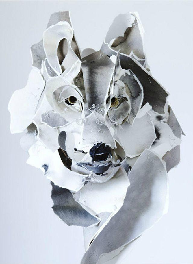 Paper Sculptures by Anna-Wili Highfield