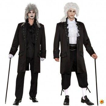 Herren Kurzmantel Ornamente   Fasching Kostüme kaufen