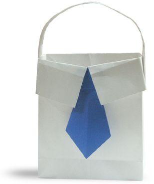 Origami A Chirt Bag