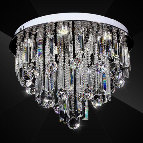Moderne Kristall Deckenleuchte Leuchte Lüster Kronleuchter Lampe Pendelleuchte | eBay