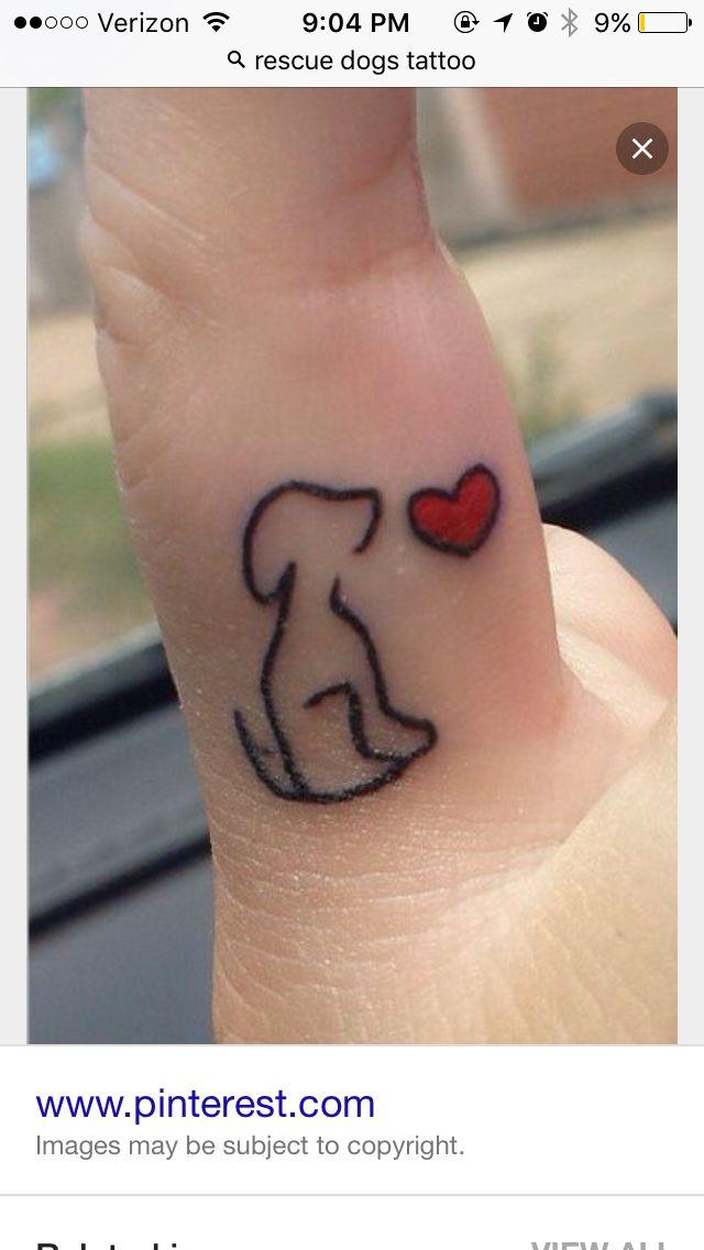 Rescue tattoo
