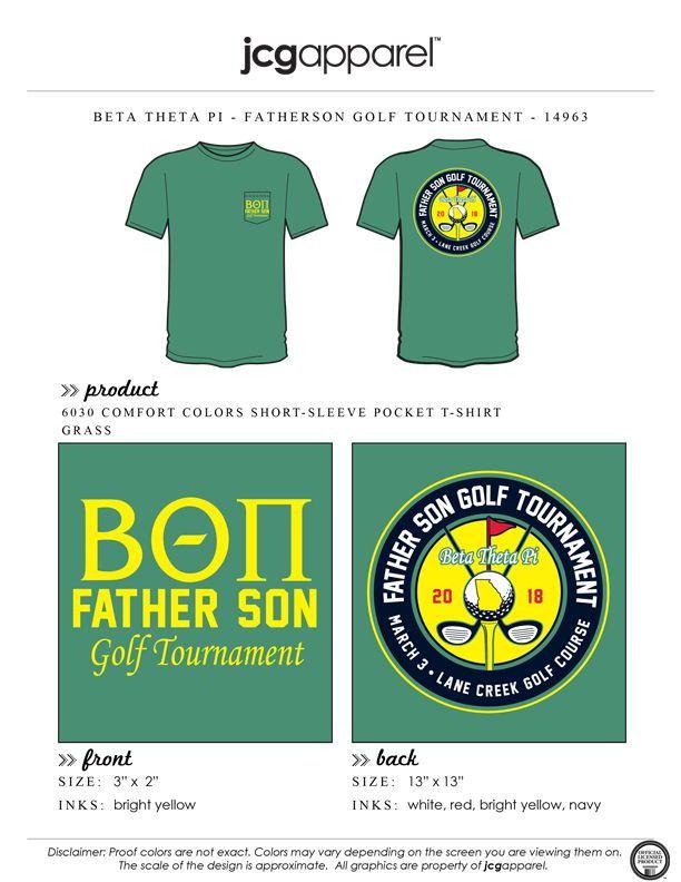 6279819c Beta Theta Pi Father Son Golf Tournament Shirt | Fraternity Father Son Golf  Tournament | Greek Father Son Golf Tournament #betathetapi…