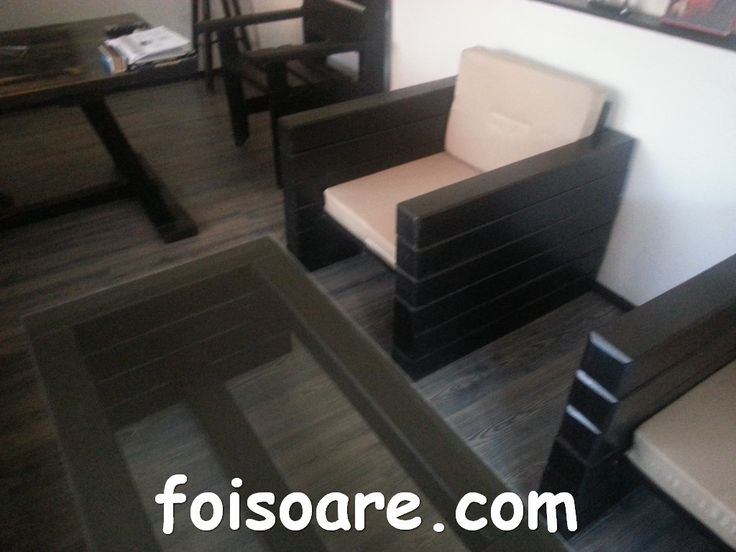 seturi mese si scaune din lemn masiv pentru gradina
