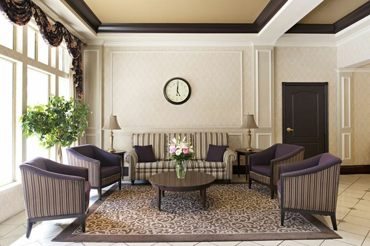 Ramada Limited Vancouver Lobby - Look at this modern take on a classic design!