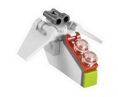 Star Wars - MINI REPUBLIC GUNSHIP - LEGO Star Wars (Rare!) was ...