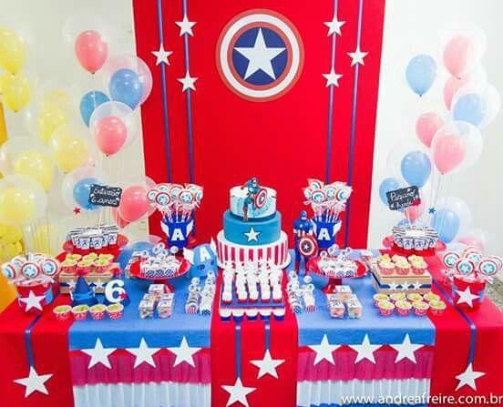 Fiesta capitán América