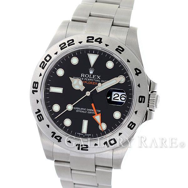 ロレックス エクスプローラー2 ランダムシリアル ルーレット 216570 ROLEX 腕時計