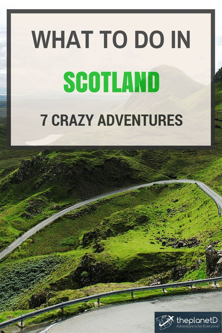Scotland has a variety of experiences beyond the stereotypical images of tartan kilts and rainclouds. Here are some tips on what to do in Scotland, UK   The Planet D Adventure Travel Blog