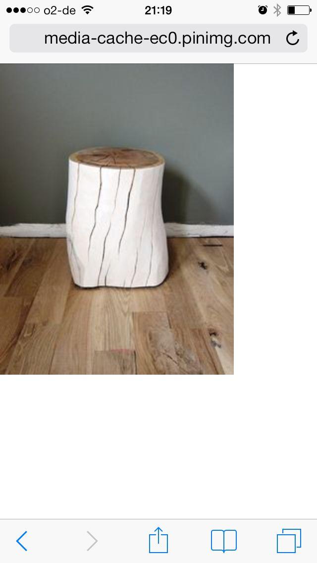 baumstamm beistelltisch m bel pinterest baumst mme beistelltische und m bel. Black Bedroom Furniture Sets. Home Design Ideas