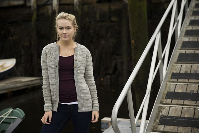 Ravelry: Dockside Cardigan pattern by Jessica Anderson