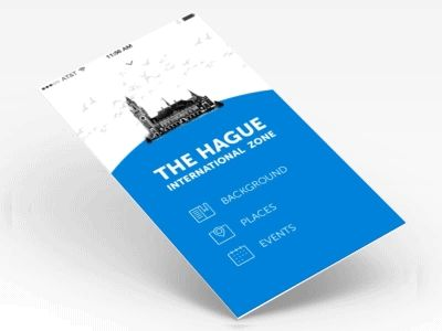 Top menu navigation concept by Kai-Ting Huang (The Netherlands)