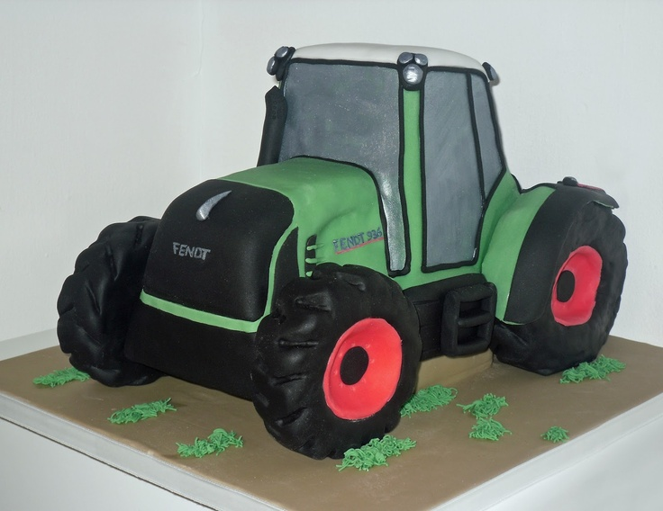Fendt 936 Tractor Cake by The Coloured Bubble Cakery - Find us on Facebook!!