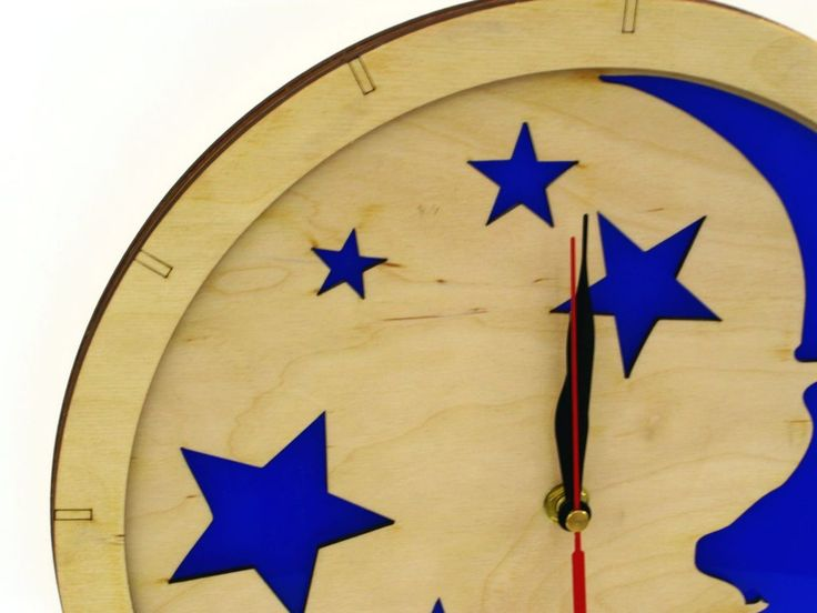 #wooden # clock #wood #Acrylic #modern #clocks #indigovento