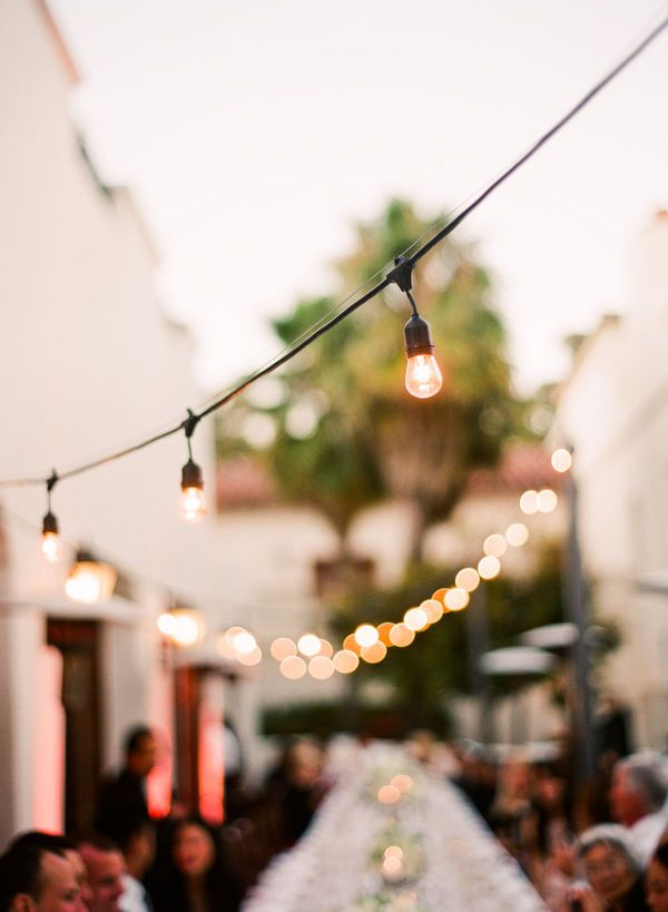 diy outdoor wedding lighting ideas%0A Santa Barbara Wedding by Beaux Arts Photographie   Brooke Keegan