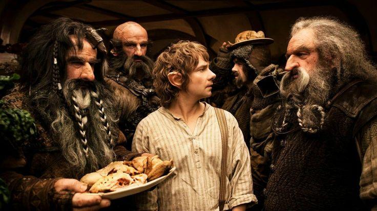 Eating Bilbo's food