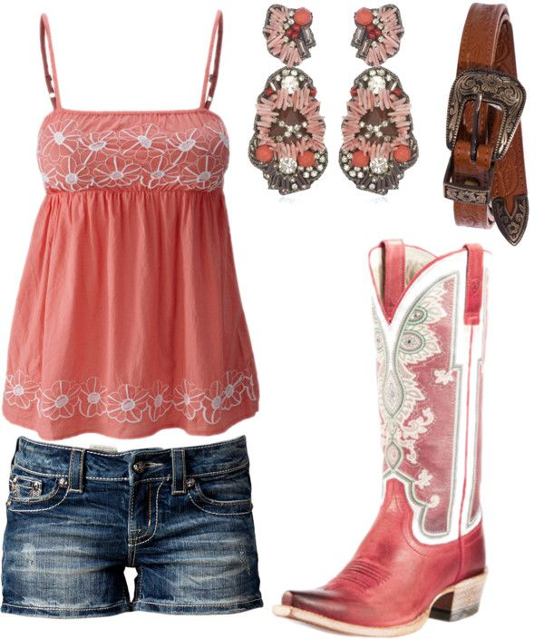 LOVE the boots. I really want some more western boots!!