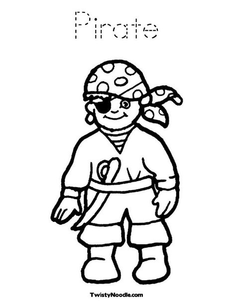 17 images about coloring pages on pinterest coloring for Pirate hat coloring page