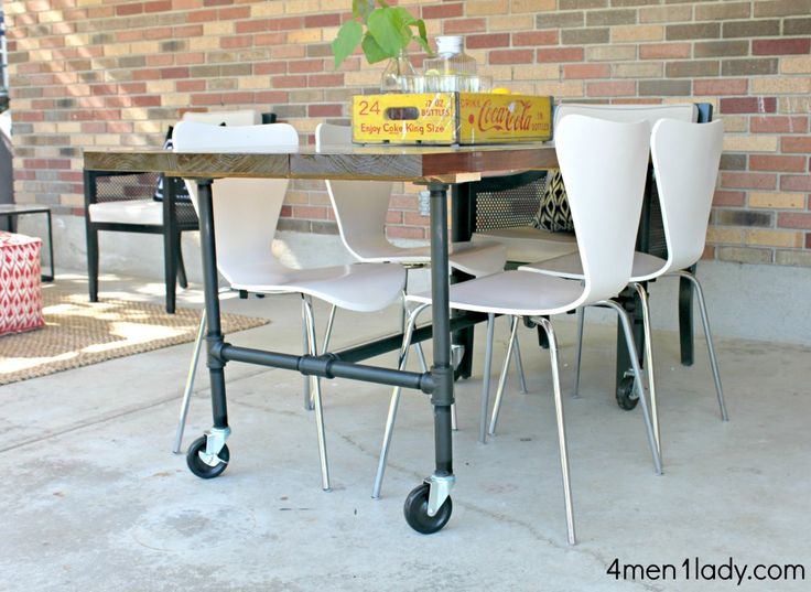 17 best images about Furniture on Pinterest  Pipe table The pipe