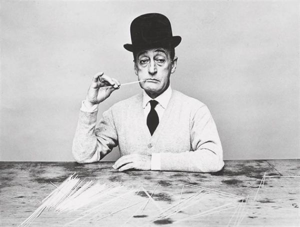 1955 | Totò (Prince Antonio De Curtis)  Photo by Guy Bourdin  Source: Mutual Art