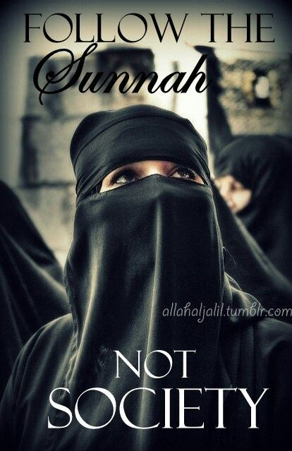 Follow the Sunnah not society. Great message
