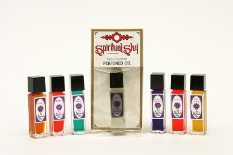 Spiritual Sky Perfume Oil - Musk Peach