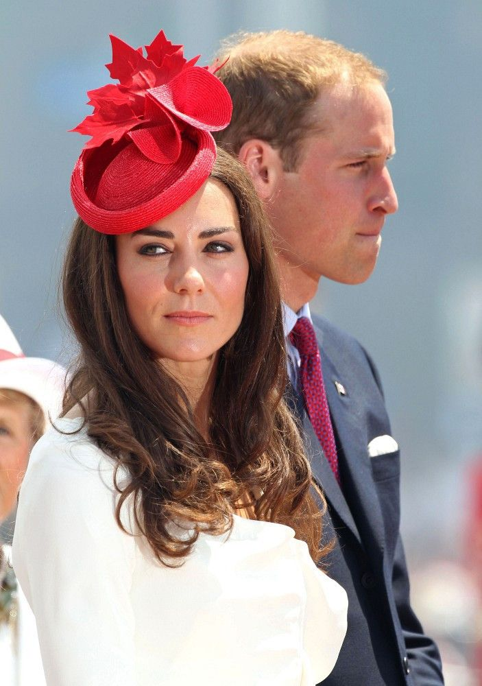 Kate Middleton Photos - William and Catherine, Duke and Duchess of Cambridge on the second day of their tour of Canada. Prince William and Catherine were at Parliament Hill for the Canada Day celebrations. The couple were greeted by thousands of cheering fans. - Prince William and Kate Middleton at Parliament Hill