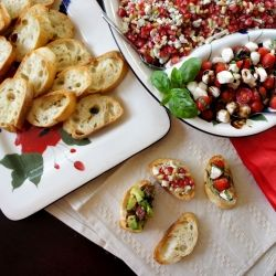 Three different Crostini Topping Recipes, plus a giveaway to help you ...