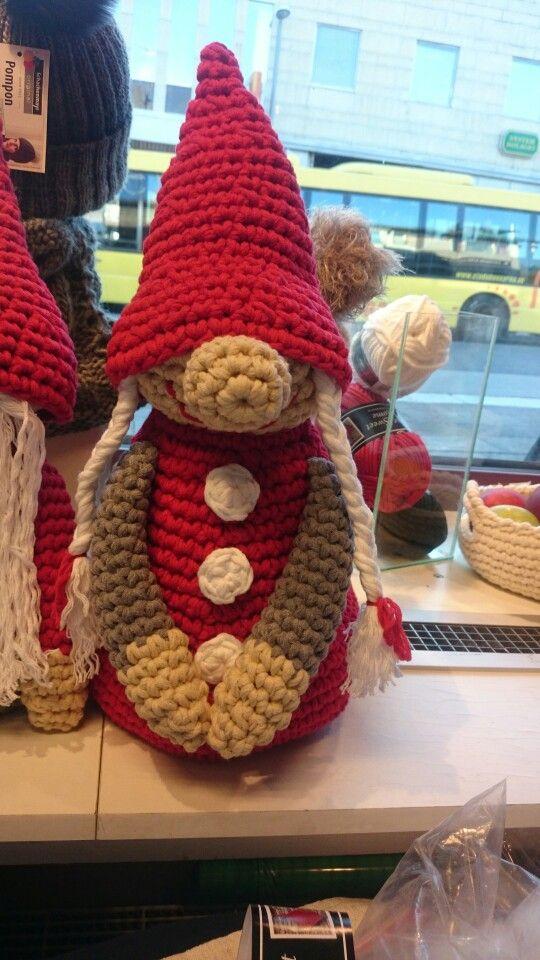 Crochet mother christmas