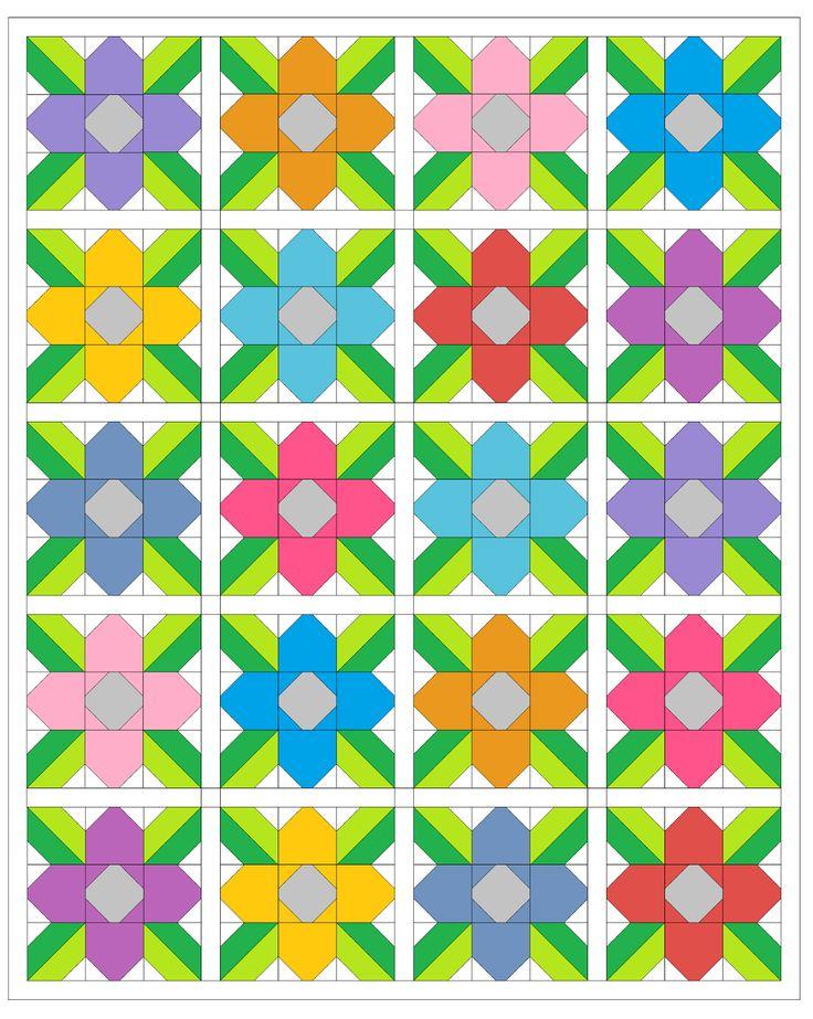 128 Best Quilt Blocks Girly Girls Images On Pinterest Quilt
