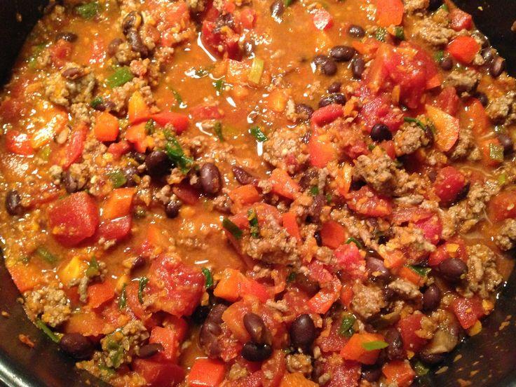 Trisha Yearwood's Fancy Chili Recipe (Eating Exploring & Enjoying Blog)